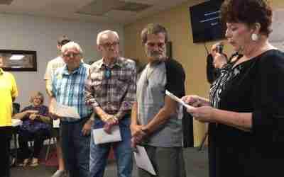 Table Of Grace Honors Veterans