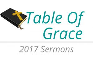 Table of Grace Sermon Cover